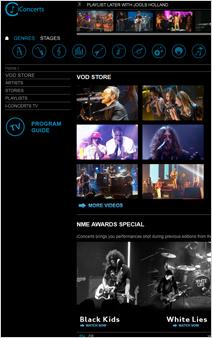 i-Concerts[アイコンサーツ]webサイト